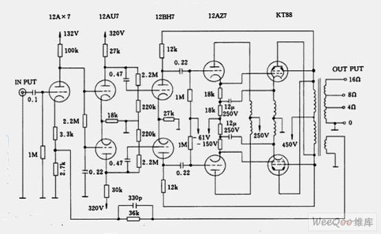 麦景图mc-275电子管功放电路图