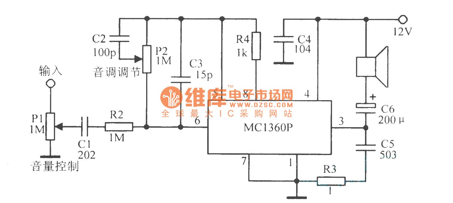 mcl306p音频功放电路