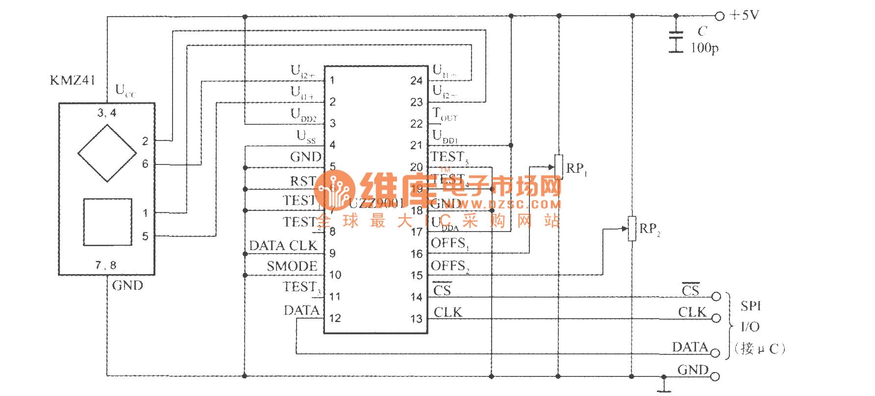 电路图 传感器电路