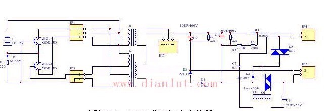 湘江xj-300的高频电子捕鱼机电路