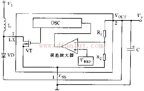 用于rh5rc内部结构的电路图
