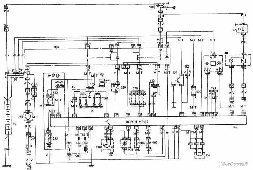 >>发动机燃油喷射控制系统电路