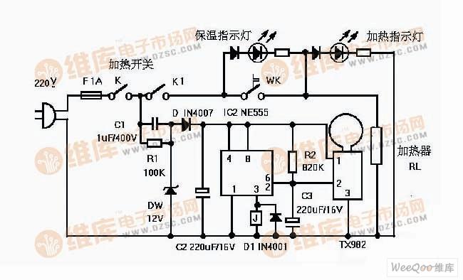 首页 电路图 控制电路 >>热释电红外开关电路设计  普通的家用饮水机