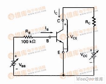 npn 三极管共射极电路图