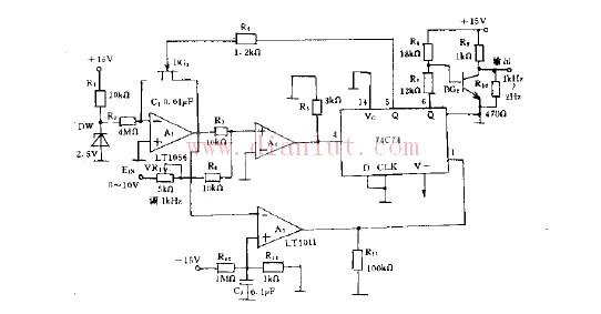 简易高效的电压频率转换电路