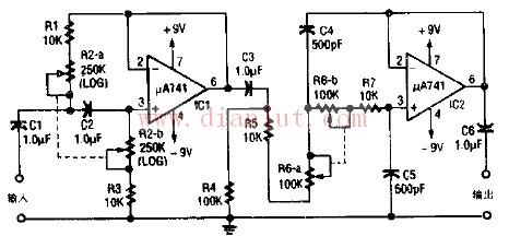 首页 电路图 电源电路 >>音频滤波器工作原理电路图