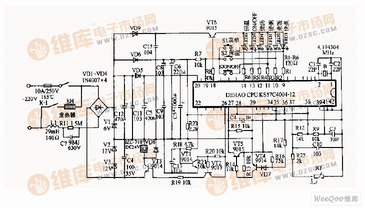 电饭锅电路图